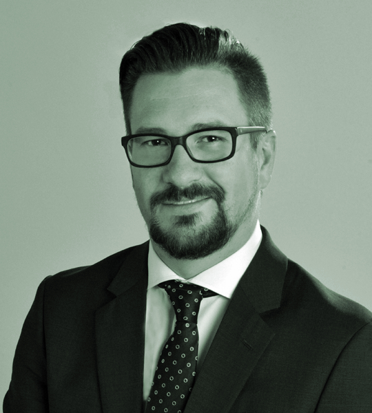 Łukasz Morysiński, attorney at law, partner
